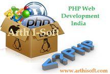 PHP Web Development / by Arth I-Soft