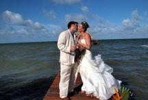 Placencia Wedding - Robert's Grove Beach Resort Belize / Destination Wedding in Placencia, Belize at Robert's Grove Beach Resort. http://www.robertsgrove.com/belize-wedding-packages / by Robert's Grove Beach Resort = 5 Star Padi Diving
