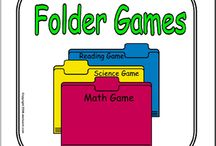 abcteach - Printable Folder Games / Printable Folder Game patterns and printable ready to play games. Game is glue into a file folder for easy storage. Use tab on folder to label the game. / by abcteach.com