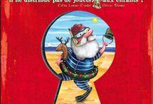 Que fait le père Noël quand il ne distribue pas de jouets aux enfants ? / by Céline Lamour-Crochet
