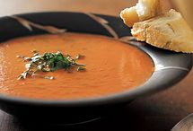 """Soup, Salad and Sandwiches / """"If it was raining soup, the Irish would go out with forks."""" / by Renee Ivey"""