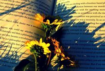 Books and Flowers / by Three Bookends