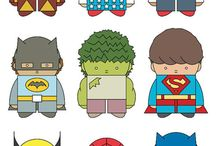 Theme ... Super heros / by Renae Ba