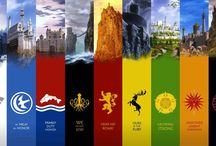 A Song of Ice and Fire / Game of Thrones / by Catherine Flowers