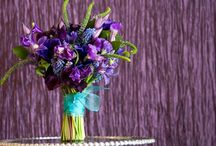 Purple Wedding Details / by ellyB Events