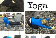 Yoga at work / by Stephie Wharam