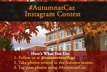#AutumnatCaz / Participate in our fall Instagram contest, #AutumnatCaz! Take photos that remind you of the autumn season and tag it with #AutumnatCaz. / by Cazenovia College