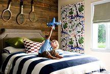 Boys rooms / by Brynne Johnson Gowens
