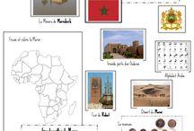 """projet """"le Maroc"""" / by oumsakina"""