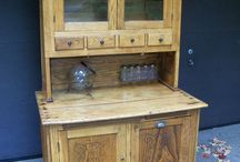 Cabinets,Cupboards,Hutches,etc..... / by Clara Sears