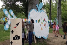 Sweet Life Canvas / Aspiring artist share their talents on our Applearrow mural at SweetLife 2012 / by Applegate