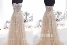 Bridesmaid Dress Ideas / Ideas for styles, colours and accessories for bridesmaid dresses  / by Rachel Williams
