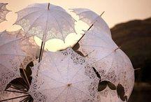 Parasols / Umbrellas / by Elizabeth Aftanas