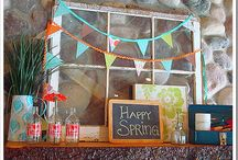 spring decor / by Heather Boudreaux