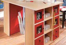 Sewing Studio ideas / by Elizabeth Breeden Gandy