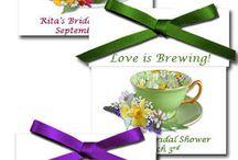 Bridal Shower ideas / by Beth M