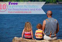 School: Preschool  and Tot Activities / by Cassie Osborne (3Dinosaurs.com)
