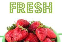 Food - fruits & veggies / by Alisha Alvey