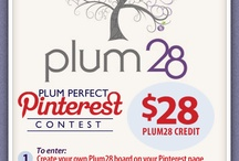 Plum28's Contest of the Week! Environmentally-friendly items from Plum28! / by Plum28