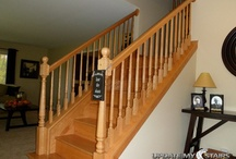 Before & After / Before & After staircase remodel pictures. / by Update My Stairs
