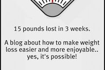 Weight Loss / by Megan Wilson