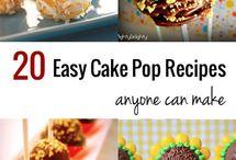 20 cake pops to make / by Kristy Dorn