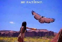 Native American / With the greatest respect, Mitakuye Oyasin is the lesson I have learned from the American Indians. The simple truth that everything on Earth is connected. How lucky am I to walk this journey with this knowledge in my heart. Namaste. / by Carroll Wilson
