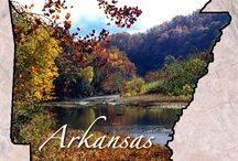 Arkansas - Arkansas the Natural State / by Betty Jo Taylor
