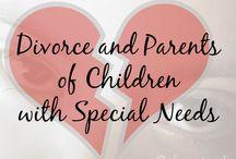 Divorce Of Parents of Children with Special needs / by Eliana Tardio