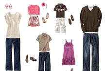 What to wear guides / by Kristy Featherstone