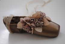 pointe shoe ideas / by Emily McKinney