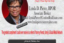 Lynda Pierce is my REALTOR / Marketing Lynda Pierce / by Lynda Pierce