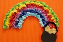 Rainbow Crafts / Arts, Crafts, Activities and snack ideas for kids and families with a Rainbow theme. / by I Heart Crafty Things