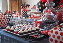Asher & Alexa's Mickey & Zebra Minnie Mouse party :) / by Raven Jade Oates