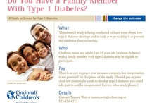 Diabetes News and Research Studies / Find information, news and clinical trials (or research studies) about diabetes from Cincinnati Children's. / by Cincinnati Children's Clinical Research Studies