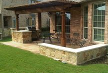 Outdoor spaces & ideas / by Tanja Johnson