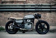 MOTORCYCLES / by PATRICK HUGHES