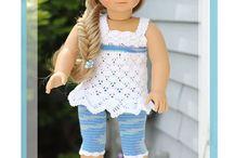 """18"""" Doll Crochet Clothes / by Brittney Ragon"""