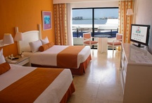Rooms / by Flamingo Cancun Resort