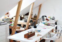 workspaces / by Mareike Engelke