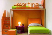 Dream kids's bedroom / by Rachel Wernicke from Redcliffe Style