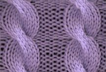 Knitting-cables / by Mary Ann Nash
