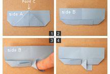 Origami, papiroflexia y dobleces. / by Estíbaliz Camacho Rubio