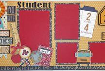 School themed scrapbooking / by Joan Green