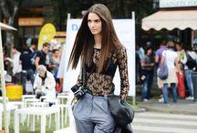 street style fashionweeks sept 12 / by FiFi