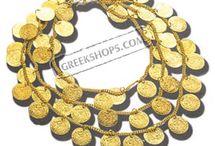 coin bib necklace ideas / by Megan Klein