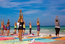 Beach Yoga 2014 / by Tropical Beach Resorts Siesta Key