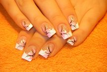 Nail colors/designs / by Vanessa Shwiry