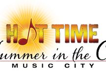 Nashville Summer: HOT TIME / by Nashville Music City