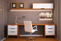 Office makeover / by Tricia Mitchell